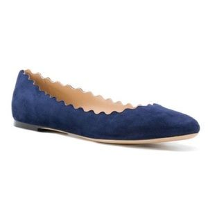 Chloe Shoes - Chloe lauren scalloped ballet flat